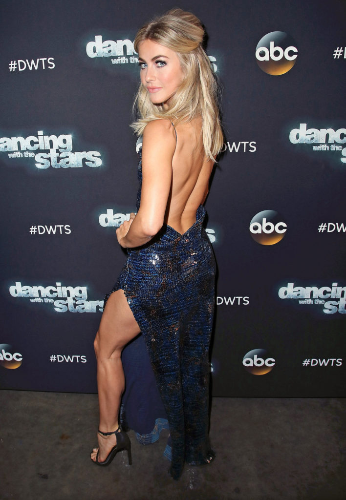 Julianne Hough Backless Photos