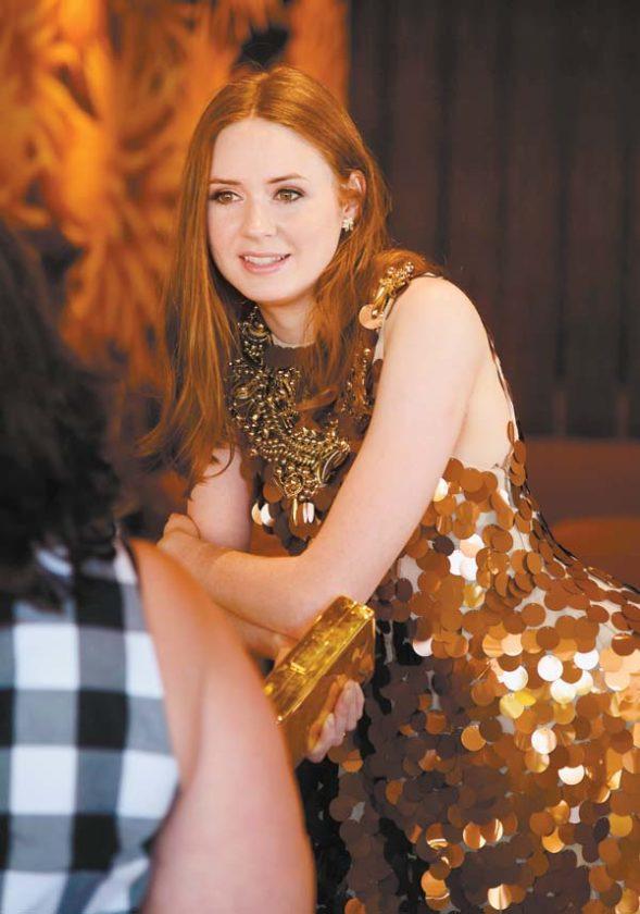 Karen Gillan Makeup Wallpapers