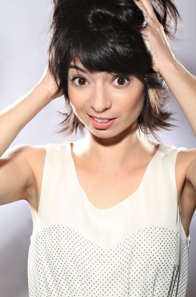 Kate Micucci Muscles Pics