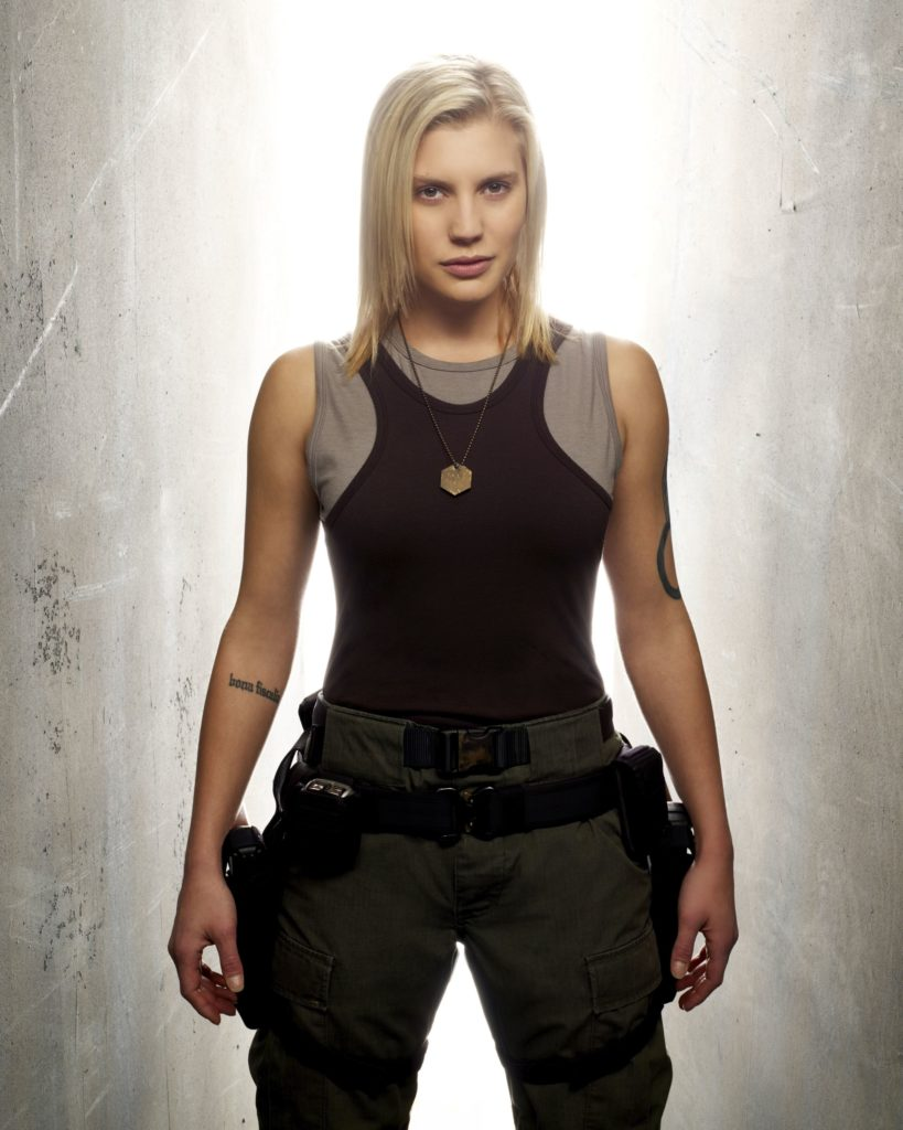 Katee Sackhoff Workout Images