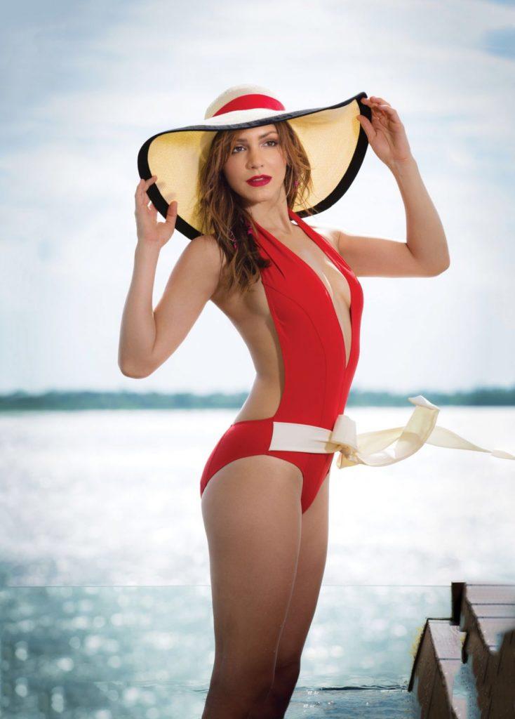 Katharine Mcphee Bikini Photos At Beach