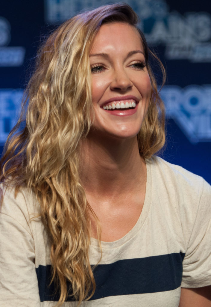 Katie Cassidy Smile Wallpapers