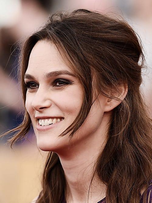Keira Knightley Cute Smile Pics