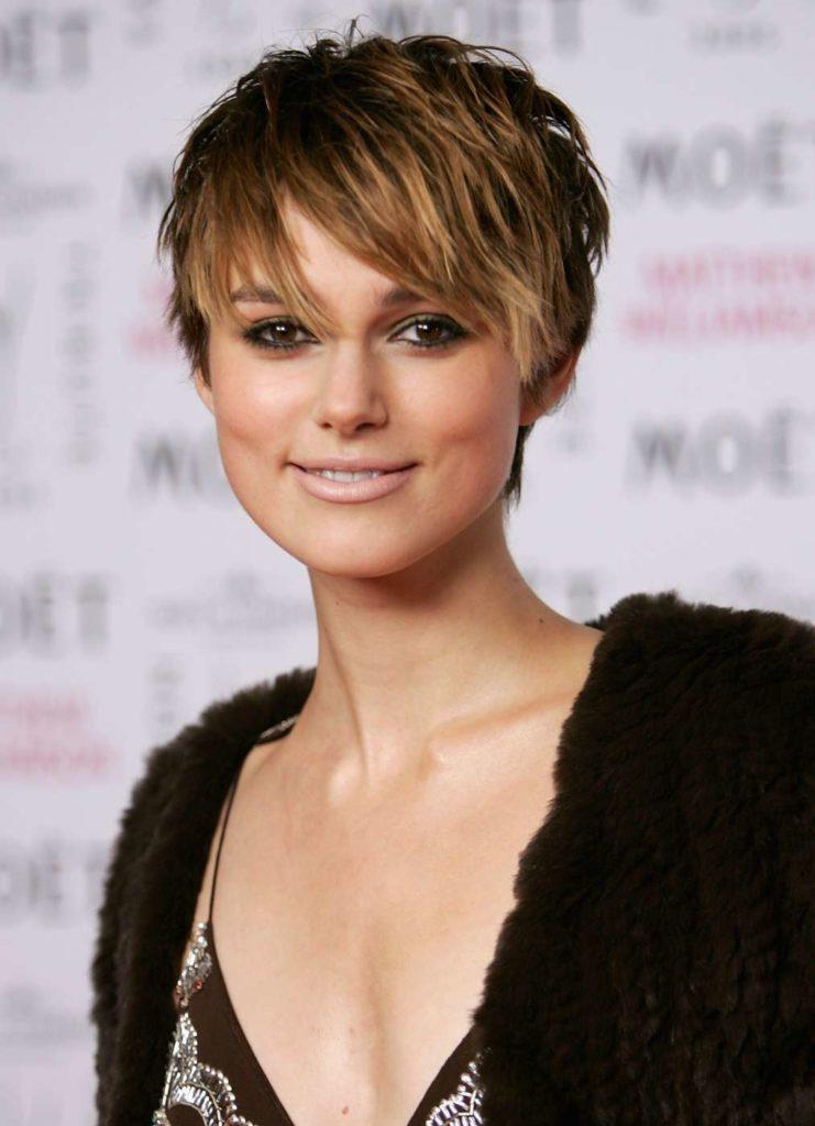 Keira Knightley Short Hair Wallpapers
