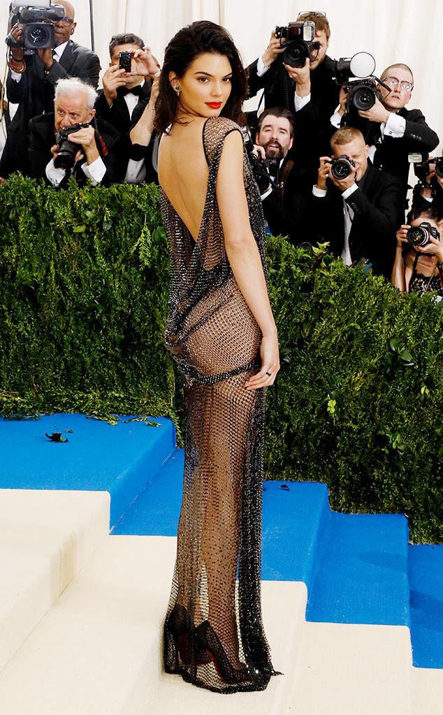 Kendall Jenner Backless Images
