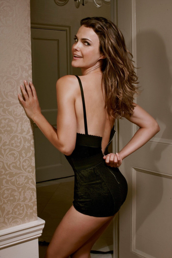 Keri Russell Backless Pictures
