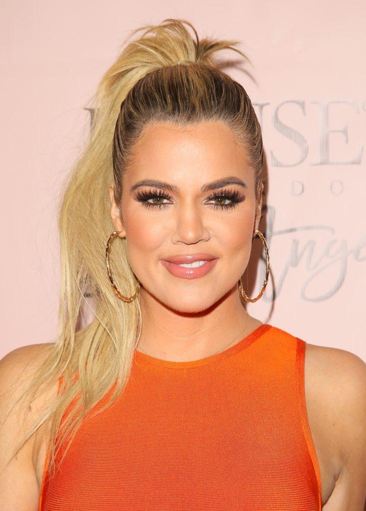 Khloe Kardashian Bun Images