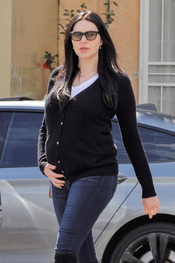 Laura Prepon Baby Bump Photos