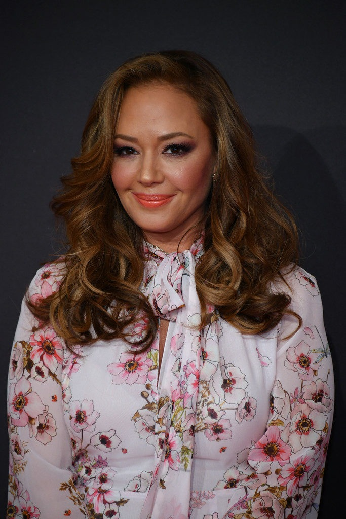 Leah Remini Hair Style Pictures
