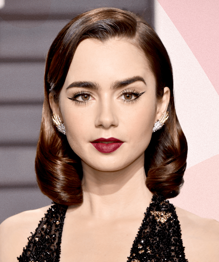 Lily Collins Hot Images