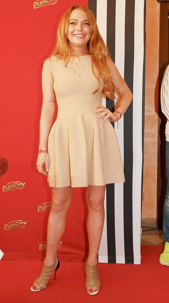 Lindsay Lohan Feet Pictures