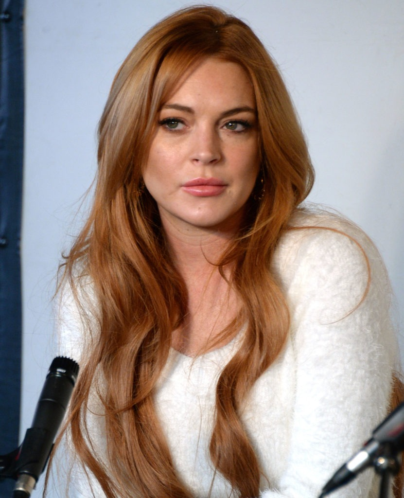 Lindsay Lohan Hair Style Wallpapers