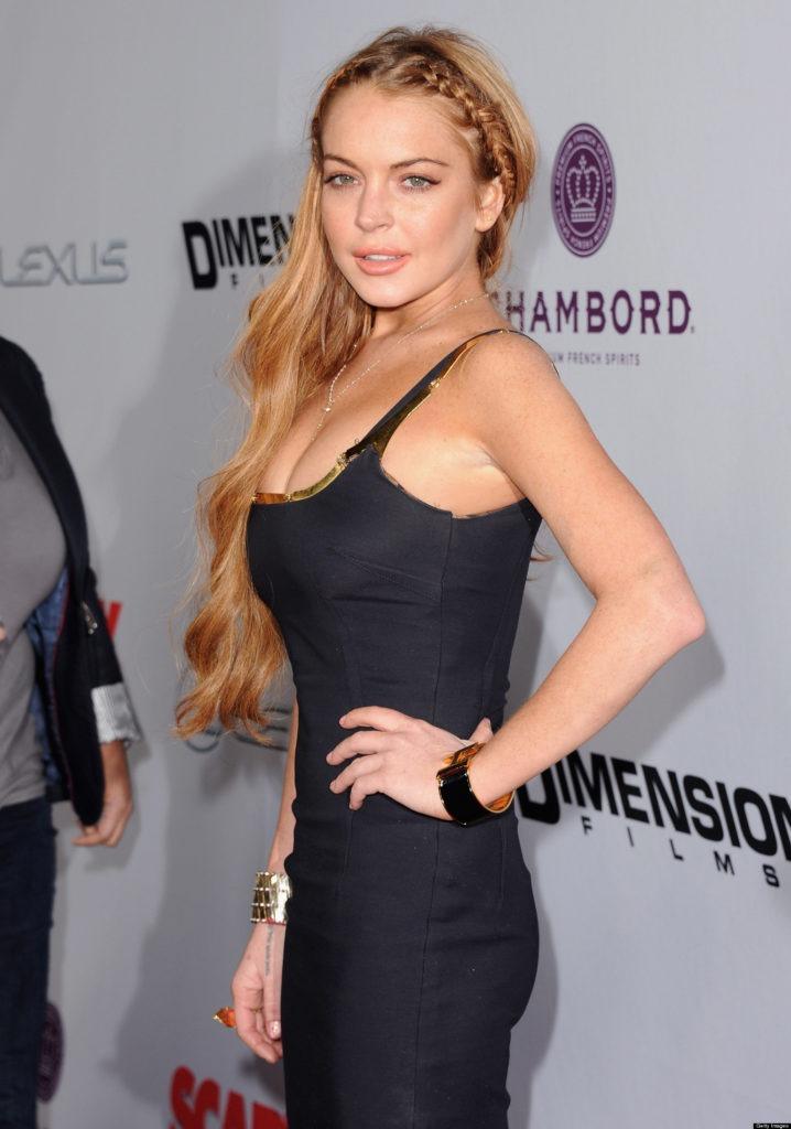 Lindsay Lohan Muscles Photos