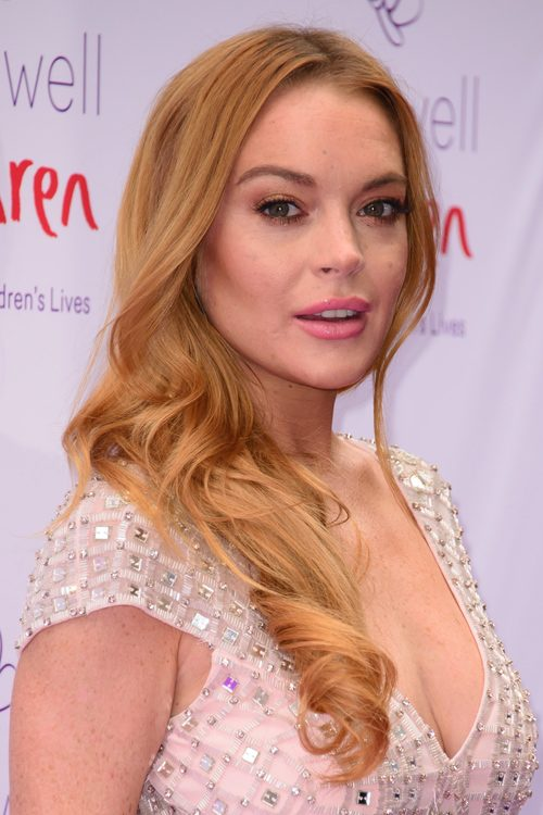 Lindsay Lohan Smile Face Photos