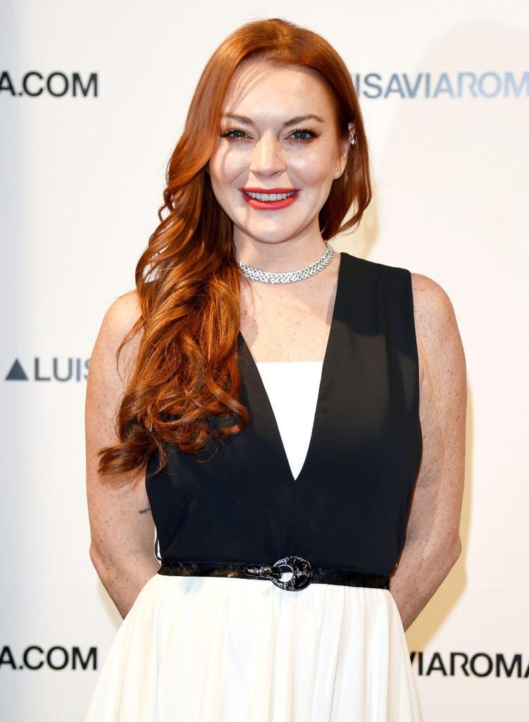 Lindsay Lohan Smile Face Wallpaeprs