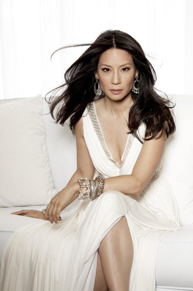 Lucy Liu Topless Photos