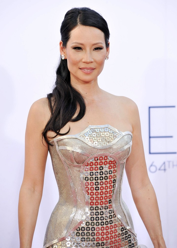 Lucy Liu Yoga Pants Pictures