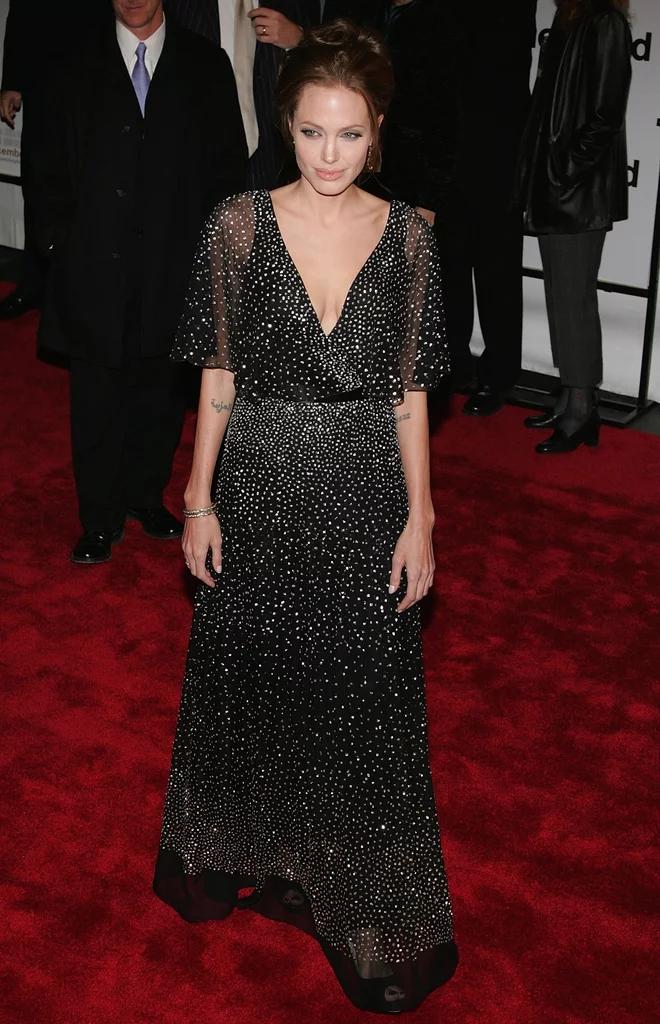 Angelina Jolie Braless Photos