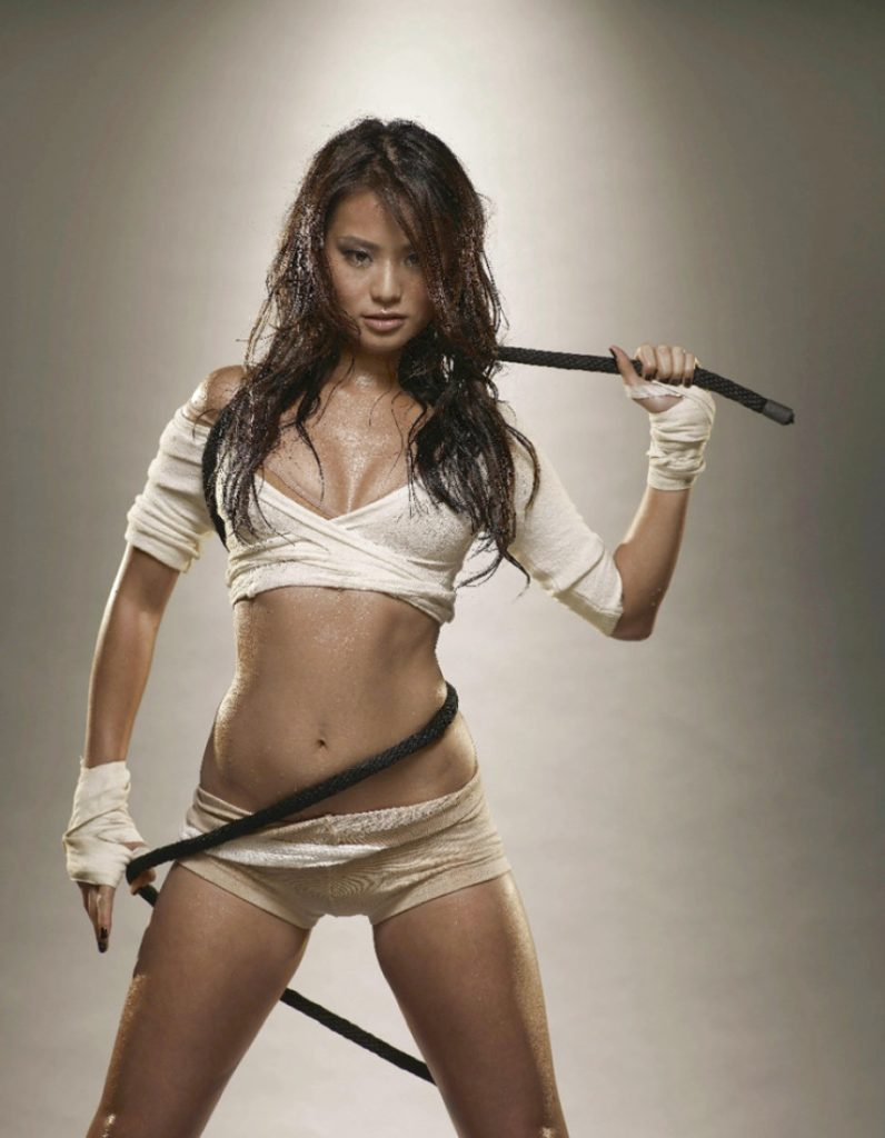 Jamie Chung Bra Panty Wallpapers