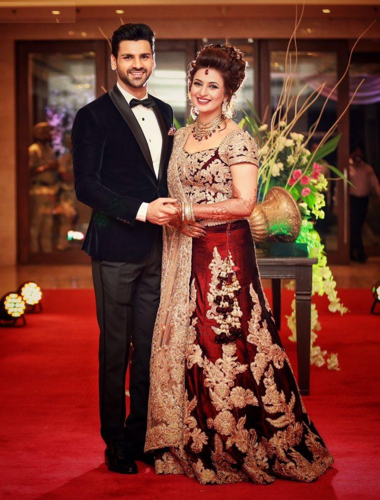 Divyanka Tripathi Lovely Couple Pics