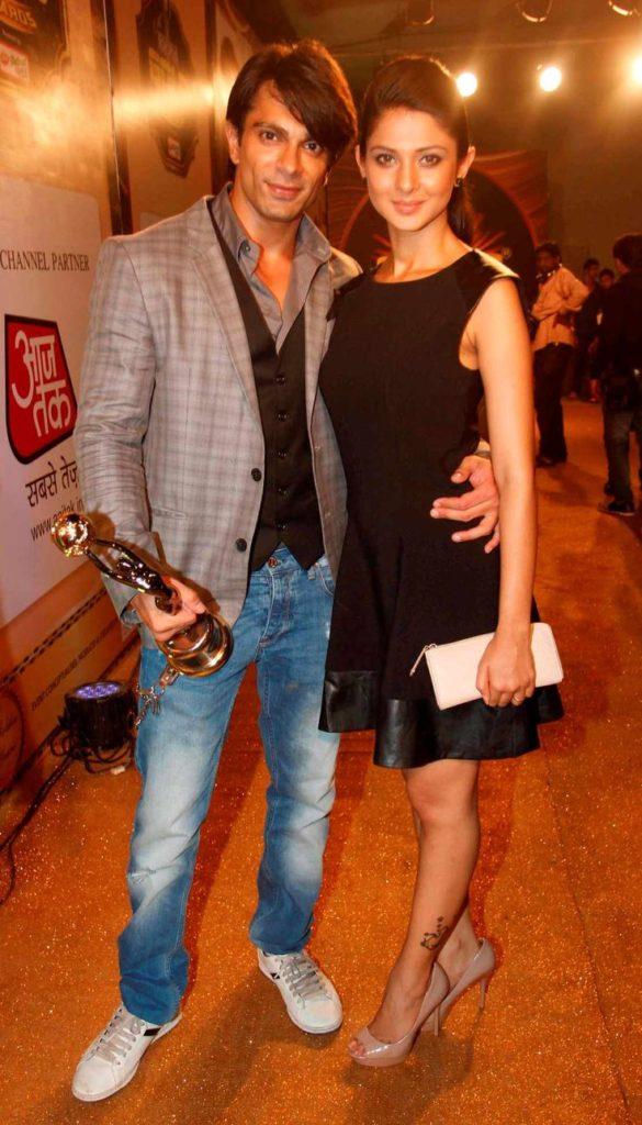 Jennifer Winget Images With Husband Karan Singh Grover