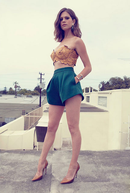Lyndsy Fonseca Shorts Photos