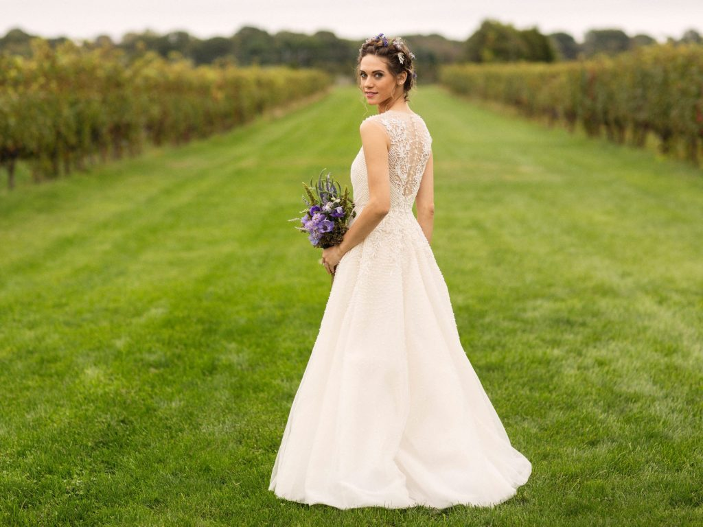 Lyndsy Fonseca Wedding Gown Images
