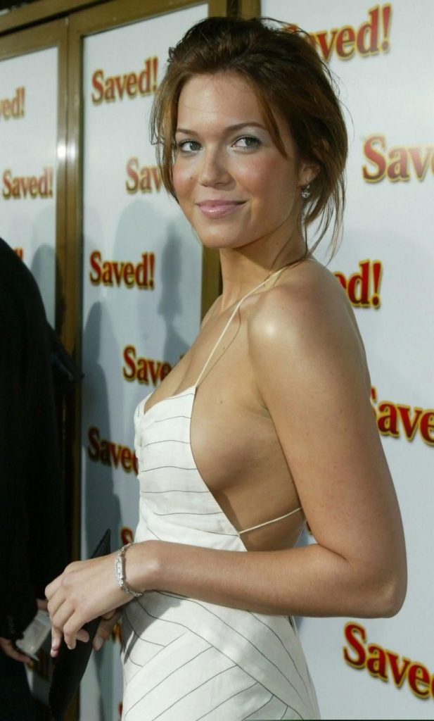 Mandy Moore Backless Pictures