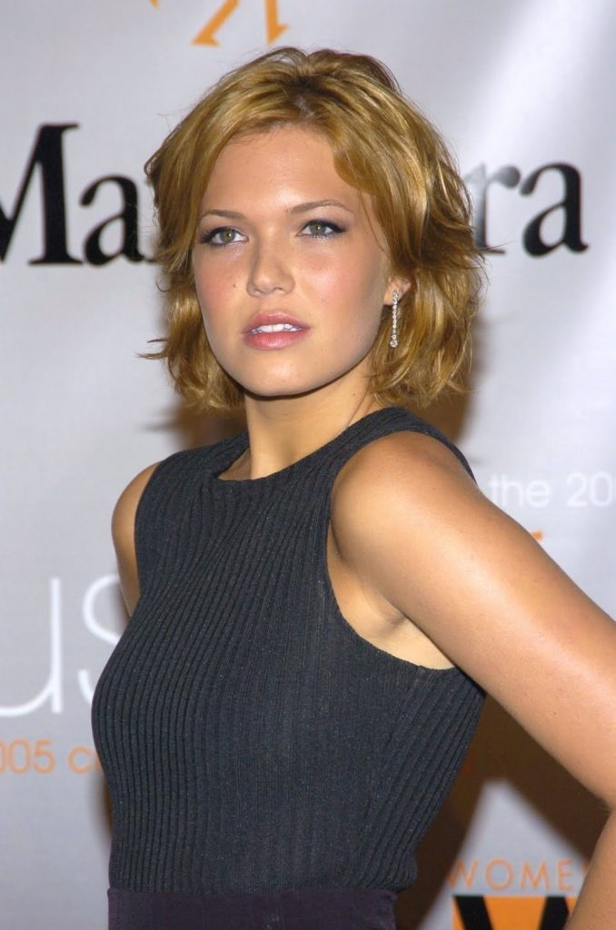 Mandy Moore Blonde Hair Pics