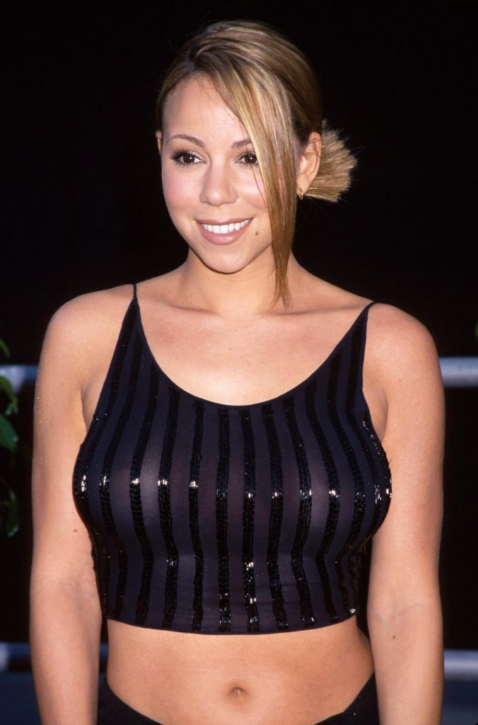 Mariah Carey Bra Photos