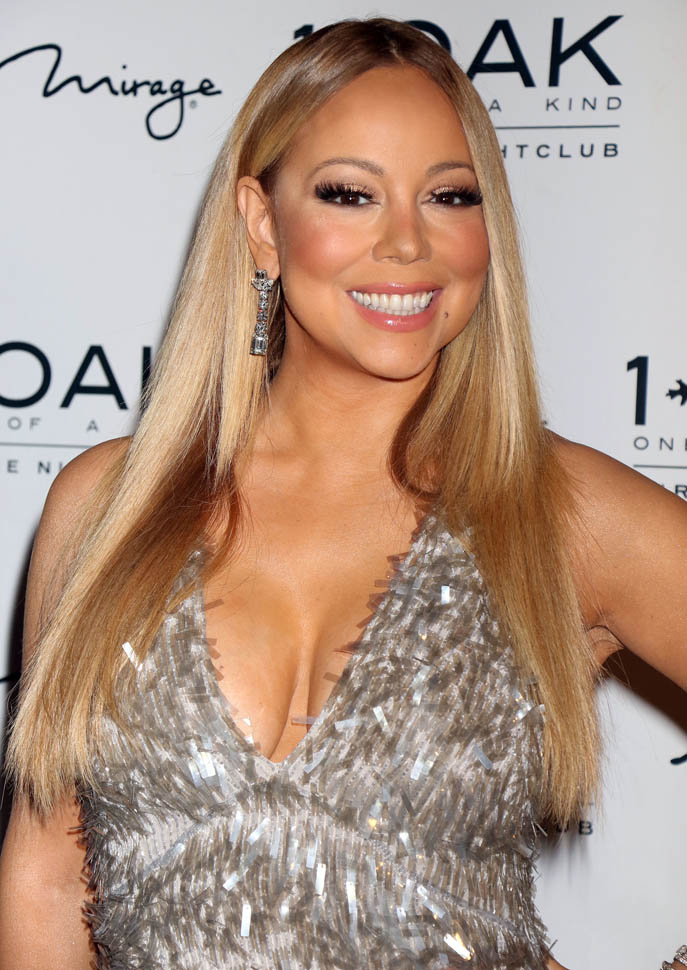 Mariah Carey Braless Images