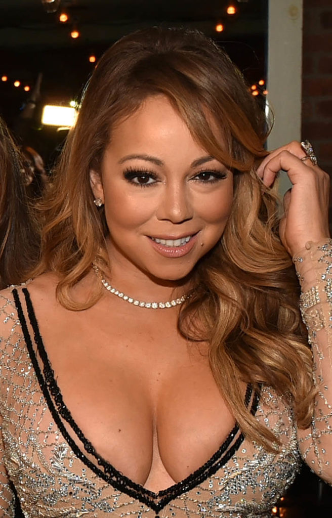 Mariah Carey Topless Photos