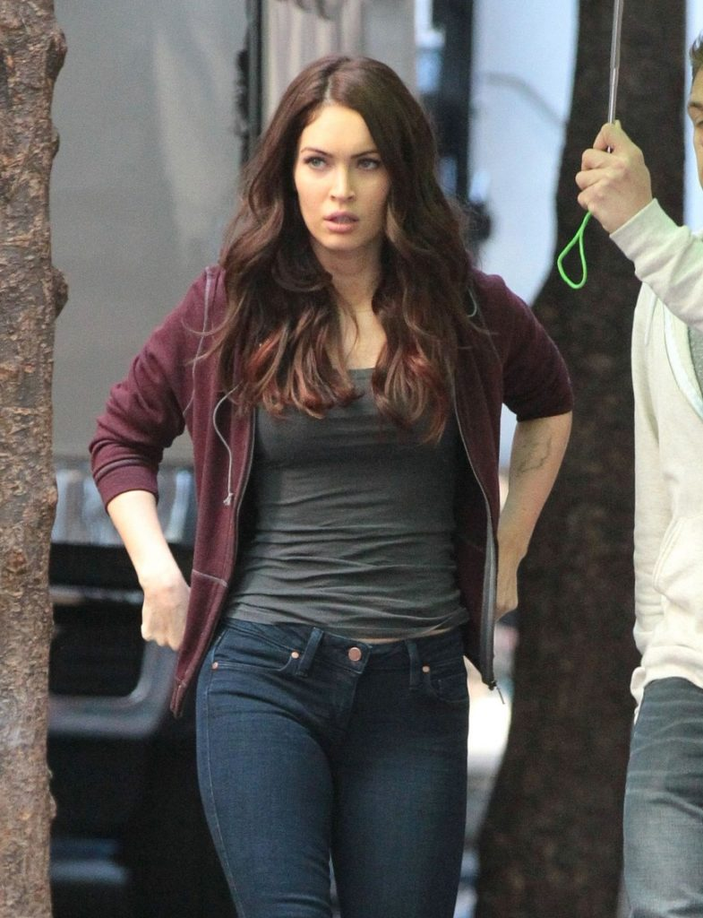 Megan Fox Images In Jeans Top