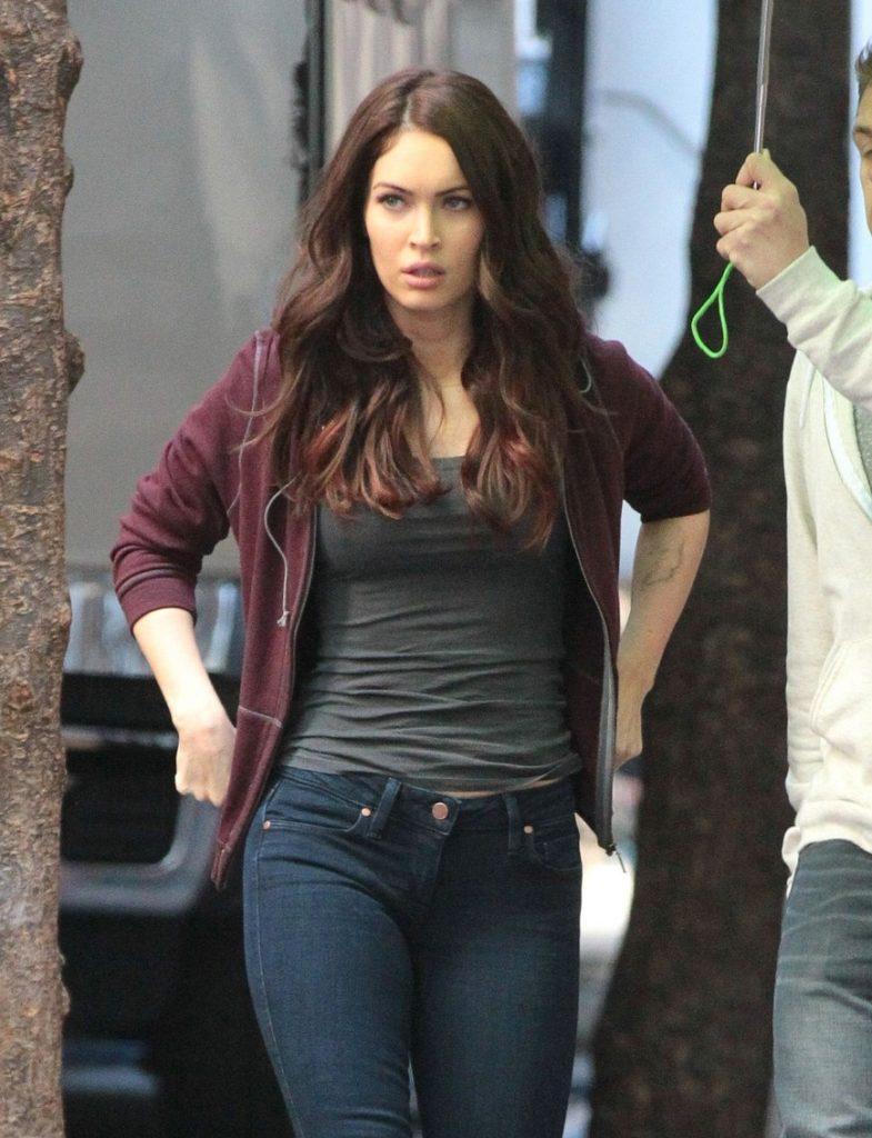 Megan Fox Images In Jeans Top
