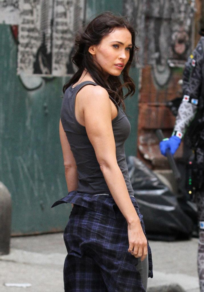 Megan Fox Muscles Pics