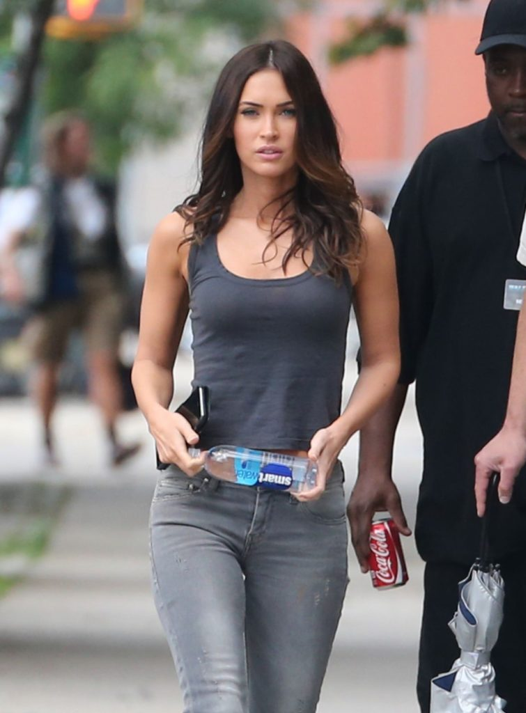 Megan Fox Photos In Yoga Suit