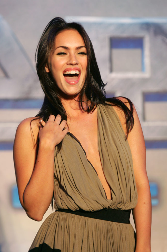 Megan Fox Smiling Photos