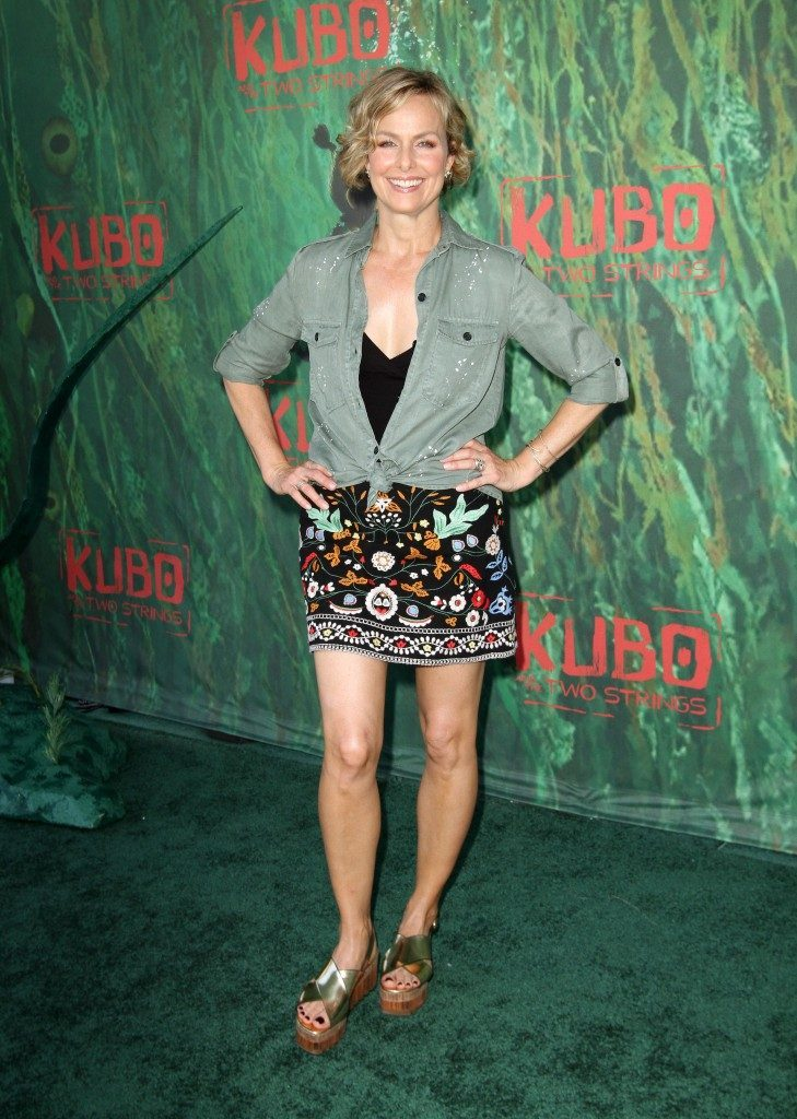 Melora Hardin Images In Shorts