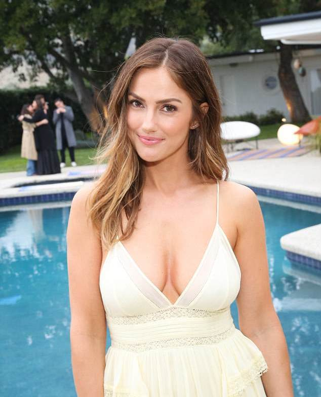 Minka Kelly Photos In Lingerie