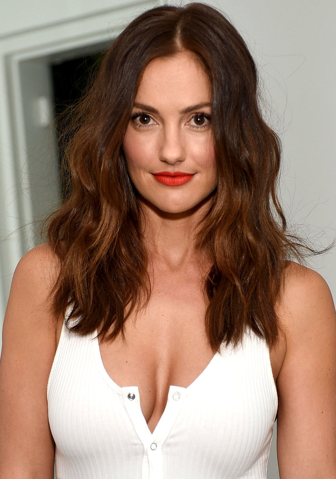 Minka Kelly Smiling Pics