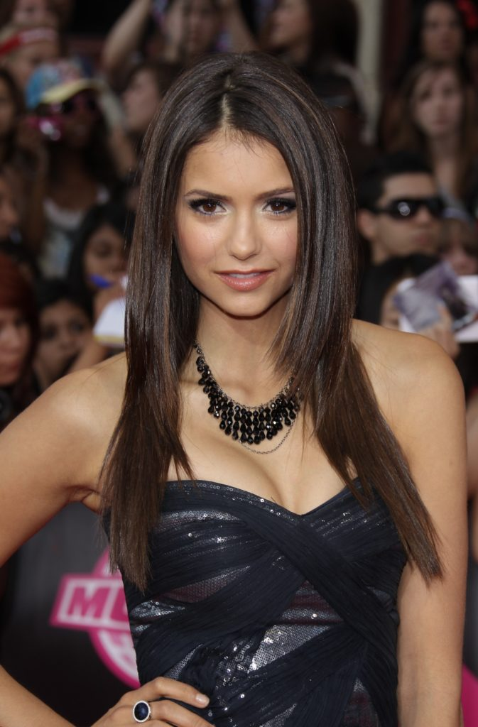Nina Dobrev Hot Boobs Photos