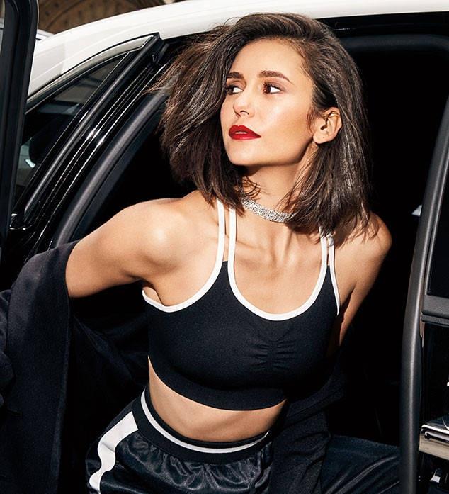 Nina Dobrev Muscles Pics