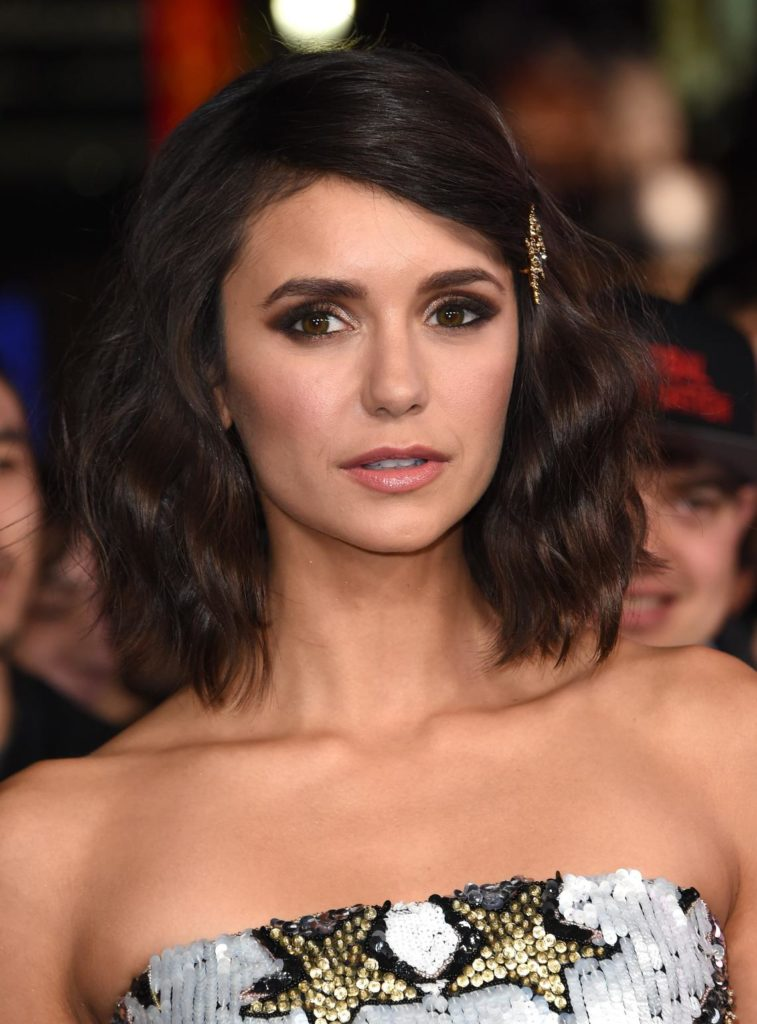 Nina Dobrev Photos Withous Bra