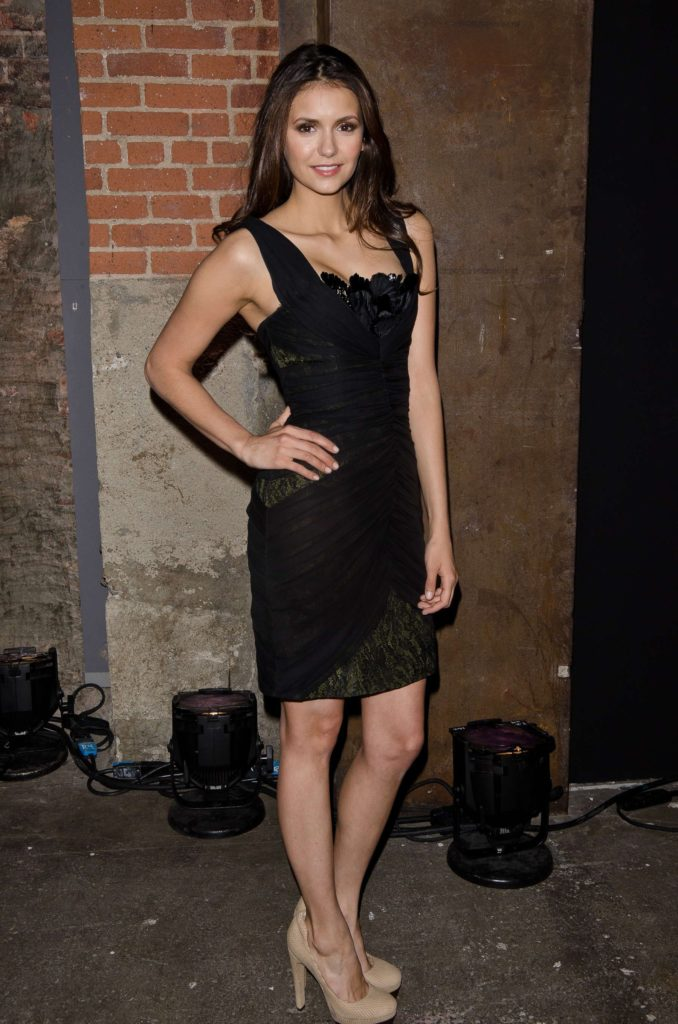 Nina Dobrev Sexy Legs Wallpapers