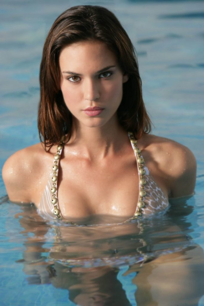 Odette Annable Photos In Bathing Suit