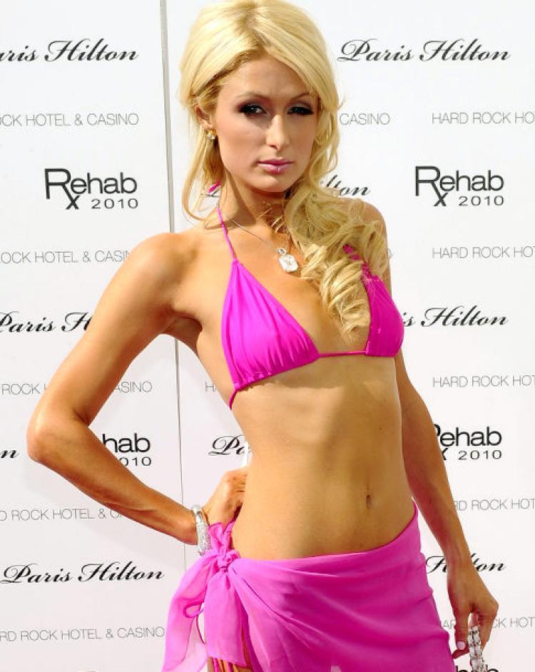 Paris Hilton Images In Bra