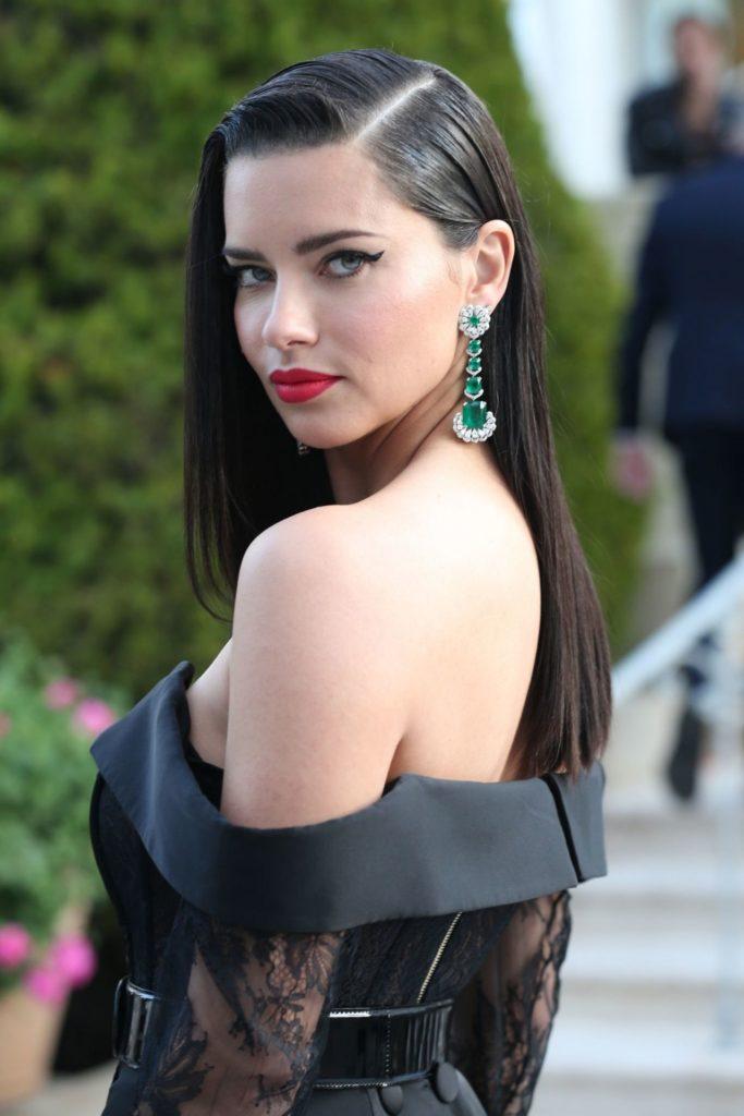 Adriana Lima Backless Images