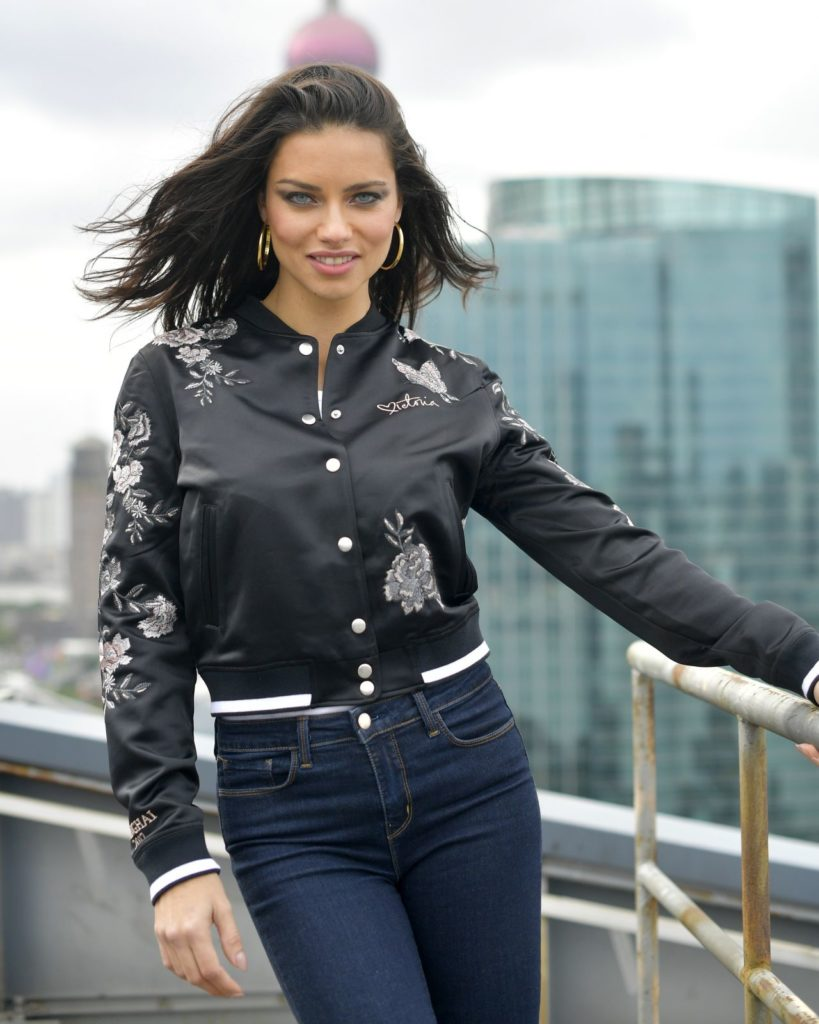 Adriana Lima Jeans Wallpapers