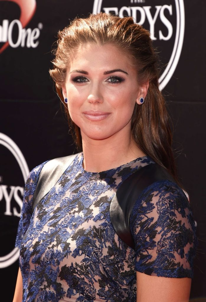 Alex Morgan Hair Style Pictures