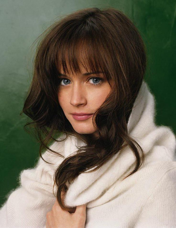 Alexis Bledel Hair Style Pics